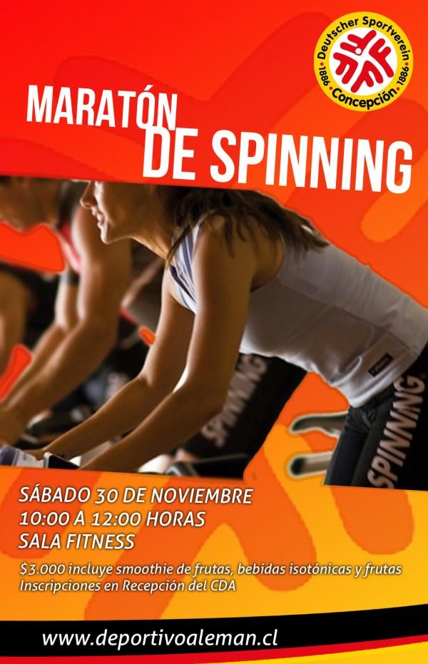 afiche spinning