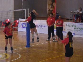 Resultado nueva fecha liga y super 4 de voleibol