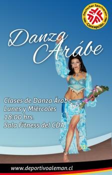 afiche danza arabe