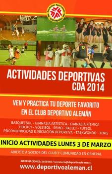 actividades deportivas web