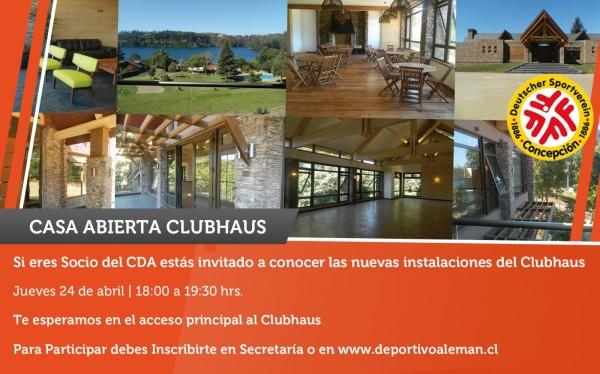 mailing casa abierta clubhaus