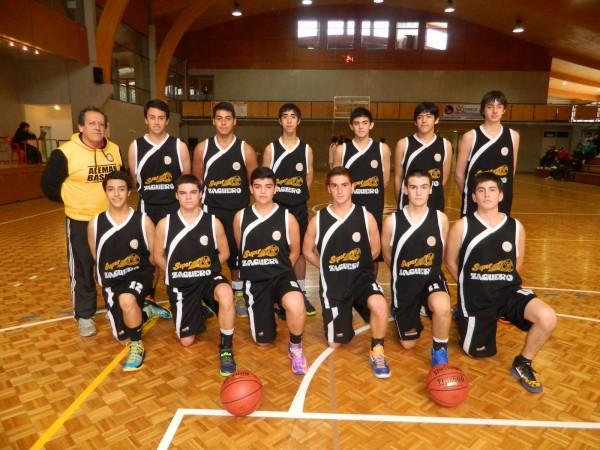 Equipo Sub 17 basket