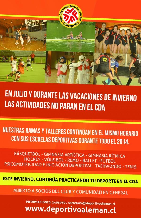 actividades invierno 2014