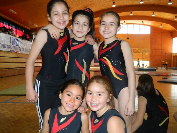 Constanza Concha, Paula Molina, Magdalena Orive, Fernanda y Magdalena Montoya