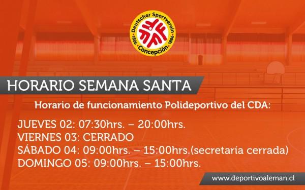 horario semana santa (2)