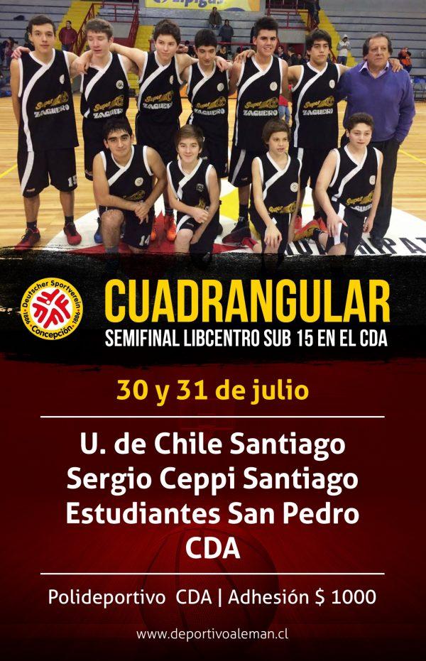 basquet cuadrangular